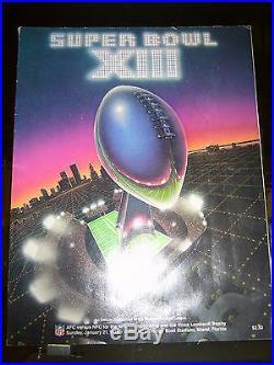1/21/1979 Super Bowl XIII Pittsburgh Steelers Dallas Cowboys Program Ex/mt Nm