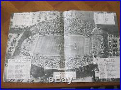 10th ANNUAL 1944 ORANGE BOWL CLASSIC FOOTBALL PROGRAM LSU vs TEXAS A&M
