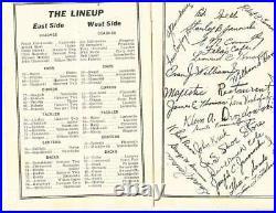 12/3 1938 Lions Club Anthracite Bowl football program Nanticoke Kingston-west bx