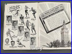 15th Annual Orange Bowl Classic 1949 Program