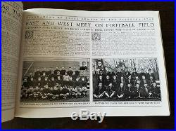 1916 Tournament of Roses Program Football Team Pictures Rose Bowl