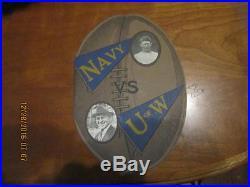 1924 Rose Bowl football program Navy vs Washington