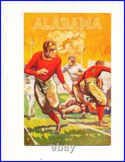 1927 Rose Bowl Football Program Alabama vs Stanford