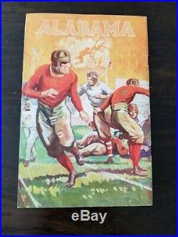 1927 Rose Bowl Football Program University of Alabama vs Stanford University