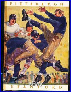 1928 Rose Bowl Football program Stanford vs Pittsburgh