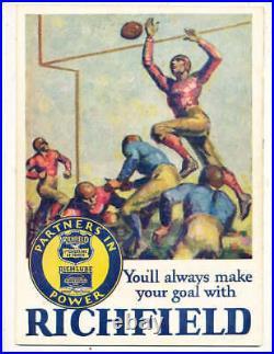 1929 Rose Bowl Football Program Georgia Tech vs California