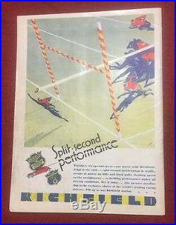 1930 Rose Bowl college football program USC Trojans v Pittsburgh Pitt Panthers