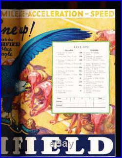 1934 Rose Bowl Football Program Columbia vs Stanford a1