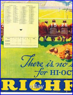 1935 Rose Bowl Football Program Alabama vs Stanford s1
