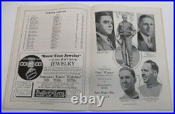 1935 Sugar Bowl Program Inuagural Game Temple v Tulane Ex/MT Very Nice 68551