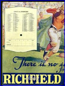 1936 Rose Bowl Program SMU Mustangs v Stanford 1/1/36 Ex 28242