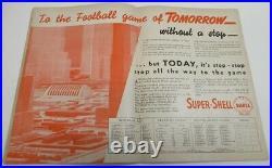 1938 Sugar Bowl Program LSU Tigers v Santa Clara VG/Ex Very Rare 68555