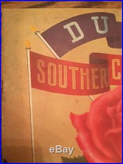 1939 Rose Bowl Football Program Duke vs USC