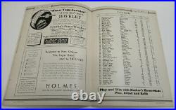 1939 Sugar Bowl Program TCU Horned Frogs v Carnegie Tech Ex/MT Very Nice 68556
