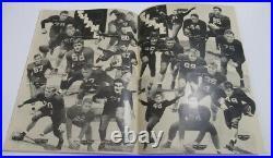 1940 Sugar Bowl Program Tulane v Texas A&M Aggies National Champs Ex/MT Nice