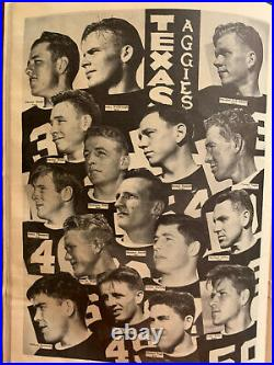 1940 Sugar Bowl Texas A&M-Tulane Football Program/AGS WIN 1st Natl CHAMPIONSHIP