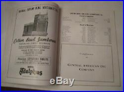 1941 Cotton Bowl Classic Football Program A & M Vs Fordham Dallas Lot B