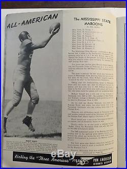 1941 Orange Bowl Mississippi St v Georgetown Football Program/AL BLOZIS/B. ELROD