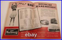 1942 Sugar Bowl Program Fordham v Missouri NMT 68559