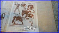 1943 Orange Bowl Alabama vs Boston College Football Program