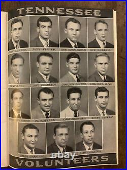 1943 SUGAR BOWL TULSA vs TENNESSEE football program/GLENN DOBBS/BOB CIFERS