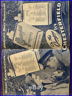 1944 Auburn vs Howard Football Program The War Eagle At Crampton Bowl