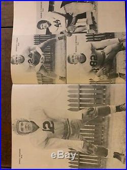 1944 ORANGE BOWL TEXAS A&M vs L. S. U. Football program/STEVE VAN BUREN/H. NORTON