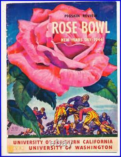 1944 Rose Bowl Football Program USC vs Washington a1