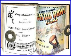 1946-1951 Bound Gator Bowl Programs Inaugural Game to the 6th Jacksonville 68490