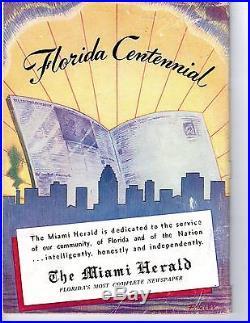 1946 Orange Bowl College Football Program, Holy Cross v Miami Hurricanes EX