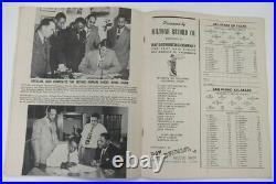 1947 Angel Bowl Program Texas All Stars v San Pedro Wrigley Field Ex 68883