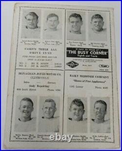 1947 Kickapoo Bowl Program Hardin v Arkansas State Very Rare Wichita Falls 68913