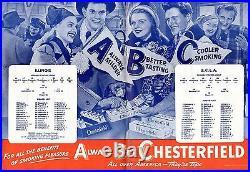 1947 Rose Bowl Football program Illinois Fightin' Illini vs. UCLA Bruins GOOD