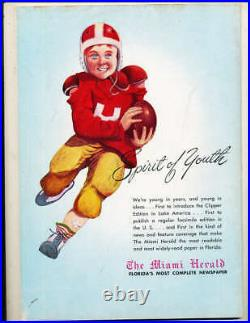 1948 Orange Bowl football Program Georgia Tech vs Kansas