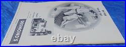 1948 Rose Bowl Game Program USC Trojans vs. Michigan Wolverines VTG Collectible