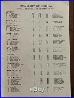 1948RARE Gator Bowl Georgia v Maryland Football Program 3rd Annual Gator Bowl