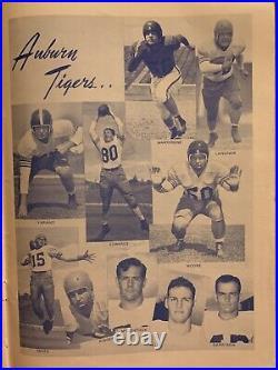 1949IRON BowlALABAMA v AUBURN 2nd annual Football Game &Program after 41 years