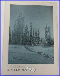 1950 Ice Bowl Program Alaska v Ladd Air Force Base Griffin Field Ex+ 68884