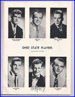 1950 Michigan Ohio State football program Snow Bowl Yost Janowicz Oosterbaan