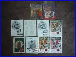 1952 Usc Trojans Rose Bowl Team Autographed Football & 10 Game Programs 1927-58