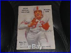 1953 Pro Bowl Football Game Program Graham, Layne, Goza