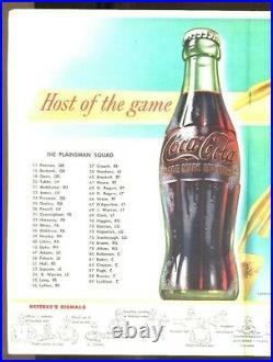 1954 Gator Bowl Program Auburn Tigers v Texas Tech Red Raiders 1/1 Ex 68474