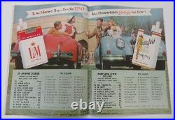 1956 Aluminum Bowl Program St. Josephs v Montana State Very Rare Ex/MT 68880