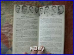 1956 COLORADO BUFFALOES FOOTBALL MEDIA GUIDE Yearbook 1957 Orange Bowl Program