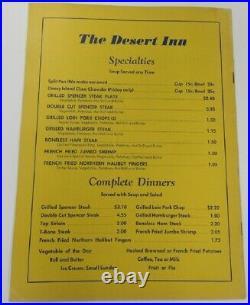 1957 Alfalfa Bowl Program Oceanside-Carlsbad v Glendfale College Ex+ 68850