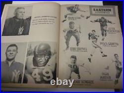 1957 NFL All-star Pro-bowl Program Football Los Angeles Coliseum Very Rare