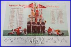 1958 Shrimp Bowl Program Brooke Army v Eglin AFB Very Rare Galveston Ex 68845