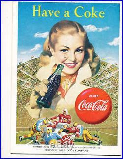 1959 12/19 TCU vs Clemson 1st Bluebonnet Bowl Football Program