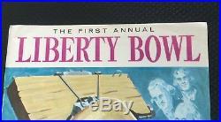 1959 Alabama Penn State Liberty Bowl Football Program Ex/near Mint Tide Psu