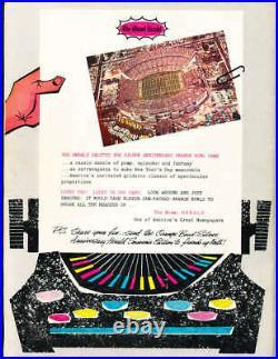 1959 Orange Bowl football Program Oklahoma vs Syracuse